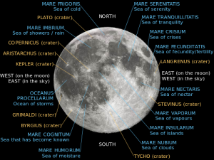 Labeled moon map - courtesy Wikimedia