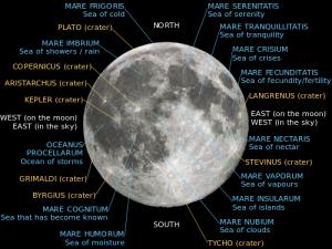 Labeled moon map - courtesy Wikimedia