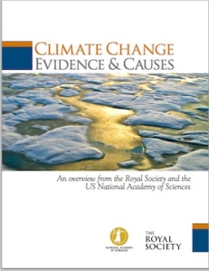 NAS-RS Climate Change Report cover
