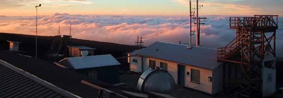 Mauna Loa observatory - courtesy NOAA, photo by Forrest Mims III