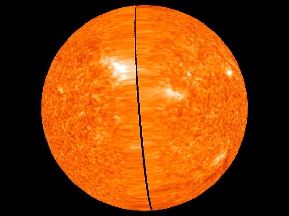 STEREO image of whole sun, Feb. 2, 2011 - courtesy NASA